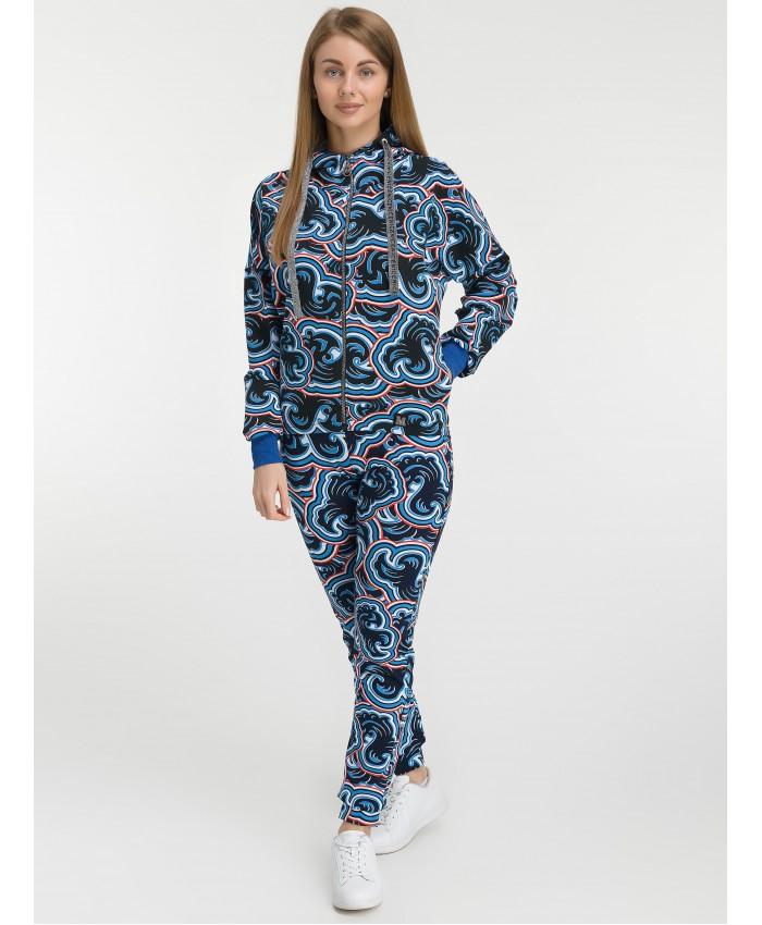 Костюм (Брюки+Толстовка) 5016 blue
