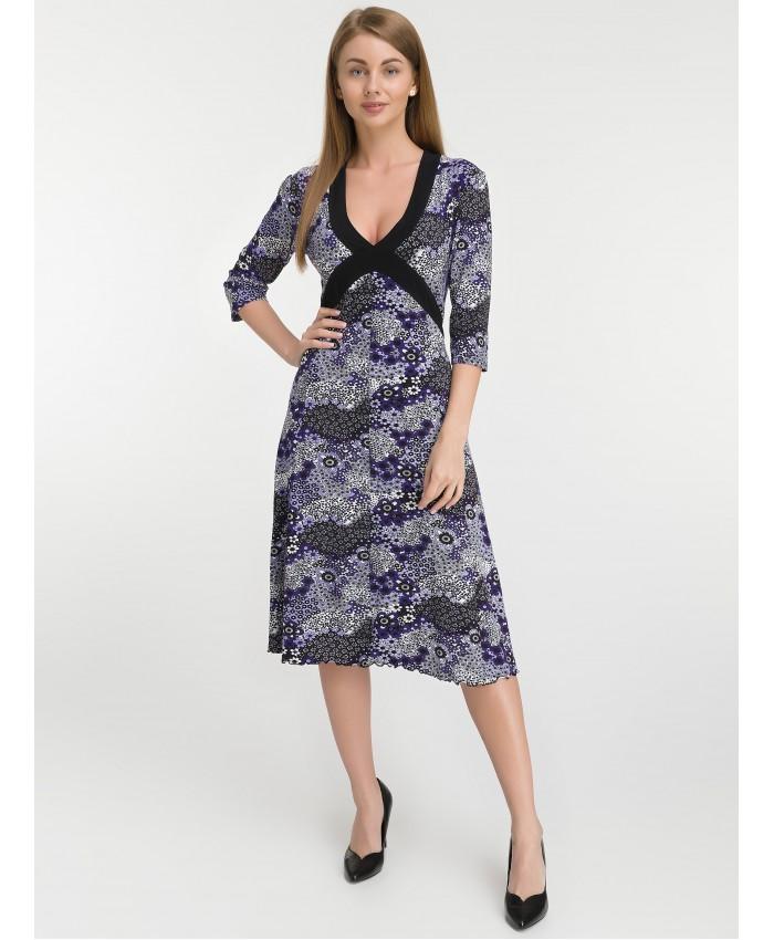 Платье   8010 violet