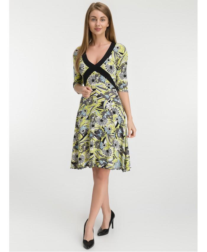 Платье   8010 yellow