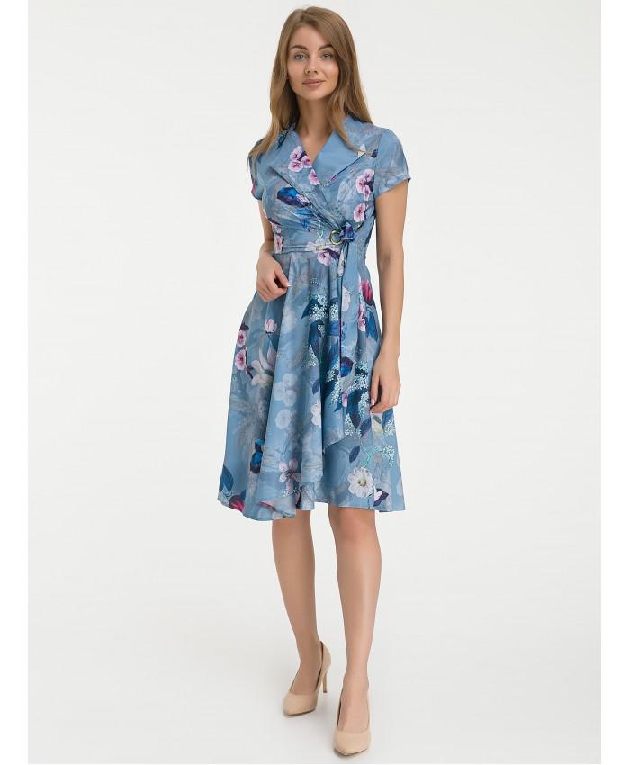 Платье  B534 blue