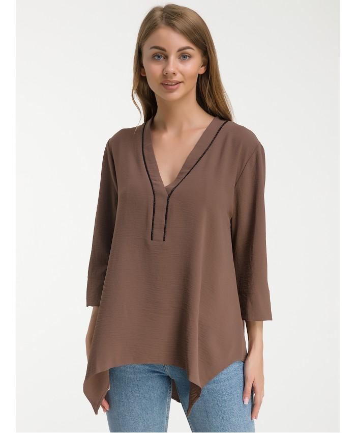Блуза  888 brown
