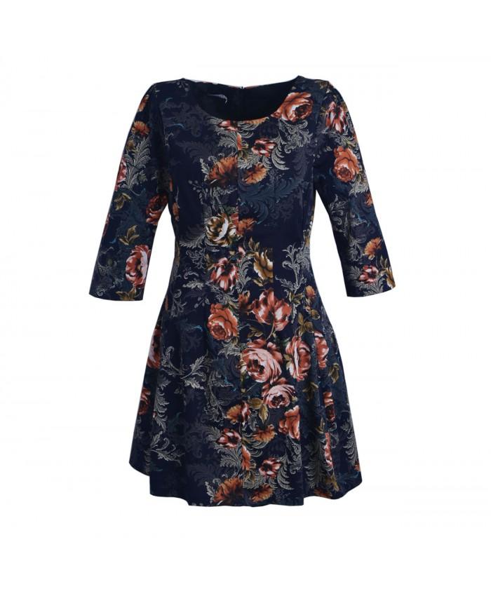 Платье 42792 brown