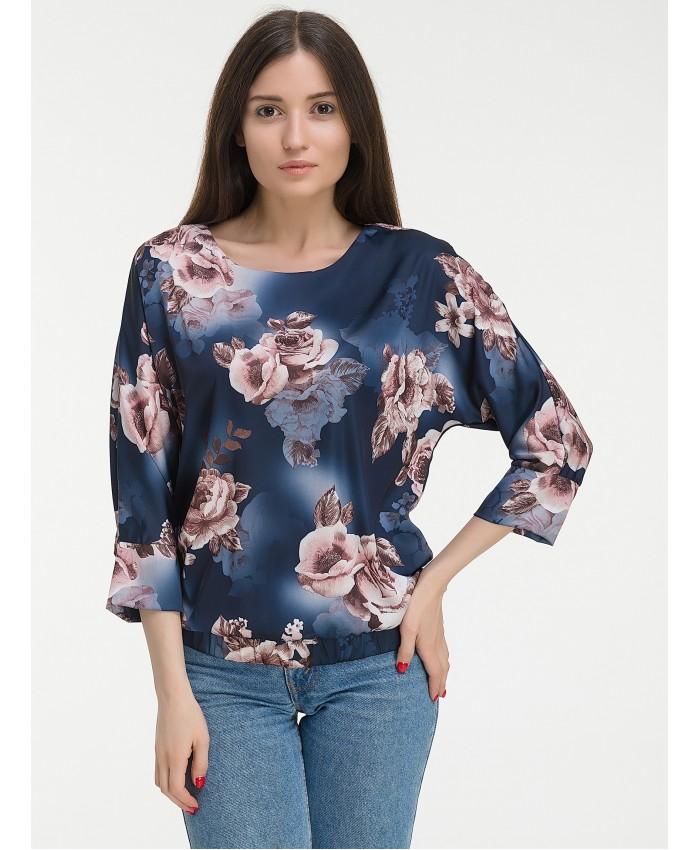 Блуза А681.2 Dark blue